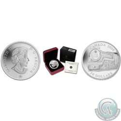 RCM Lot of 3: 2008 Royal Hudson Train Fine Silver $20 Coin (Limited Edition 10,000 mintage), 2010 Se