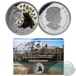 RCM/Canada Post Lot of 5: 2015 The Mountain Goat Stamp and $20 Fine Silver 38mm Coin Set (Limited Ed