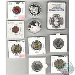 Lot of 19 War Commemoratives: Australian 1914-2014 Centenary of Military Aviation & Submarines First