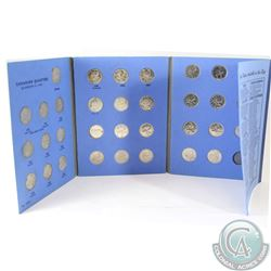 Canadian Quarter Collection 1953-1982 in Blue Whitman Folder. The dates you will receive are: 1953 S