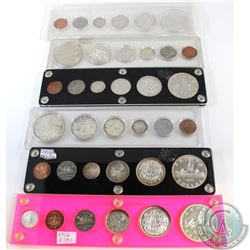 Estate Lot of 6x Canada 6-coin Year Sets in Hard Plastic Holders. You will receive the dates 1953, 2