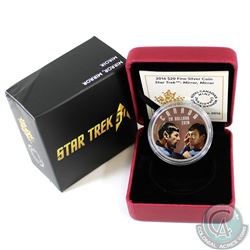 2016 Canada $20 Star Trek - Mirror, Mirror Fine Silver Coin (Outer sleeve dented in one corner) (TAX