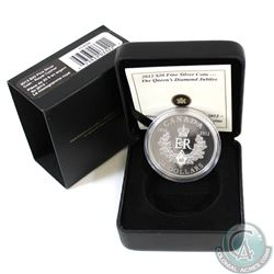 2012 Canada $20 Queen's Diamond Jubilee - Royal Cypher Fine Silver Coin (TAX Exempt)