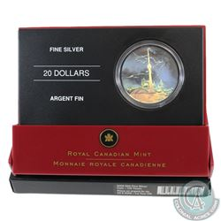 2006 Canada $20 Architectural Treasures - CN Tower Fine Silver Coin (Outer sleeve corner torn & caps