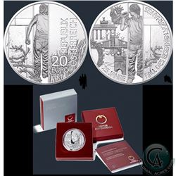 Lot of 3 World Silver Commemoratives (Isle of Man, Austria): Pobjoy Mint 2015 Set of Isle of Man Bic