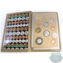 1991 Royal Australian Mint 25th Anniversary of Decimal 8-coin Commemorative Proof set.
