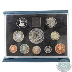 1998 Great Britian Proof 10-coin set Commemorating the 50th Birthday of Prince Charles (missing cert