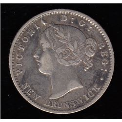 Br 905. N.B. 1862 10 cents
