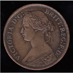Br 908. N.B. 1861 1/2 cent.
