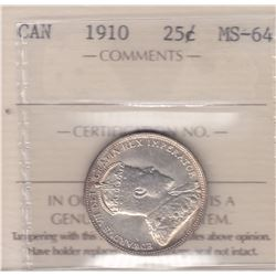 Canada - 1910 Twenty Five Cents