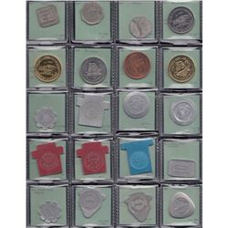 Prince Edward Island Tokens - Woods Island, Wheatley, Summerside, Montague, Souris