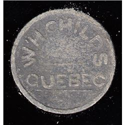 Quebec Tokens - Br. 669. W.H. Childs, Pain Bis.