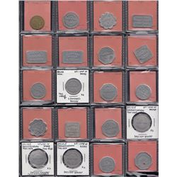 Saskatchewan - Lot of 76 bakery tokens.