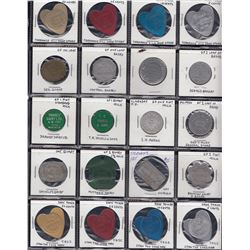 Lot of 187 Mavericks, Medallions and Modern tokens.