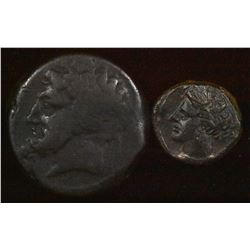 Ancient Africa. Circa 3rd-2nd Century BC. (2 Pcs)