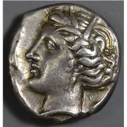 Sicily, Entella. 320-300 BC. AR Tetradrachm