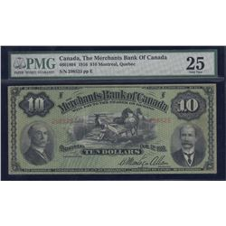 Merchants Bank of Canada $10, 1916