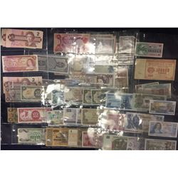 Collection of World Paper Money