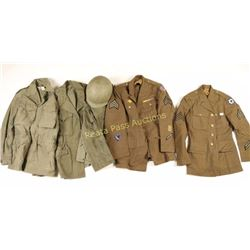 Large Lot of US WWII Uniforms