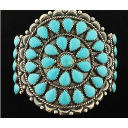 Old Pawn Inspired Turquoise Bracelet