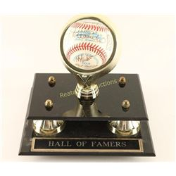 Hall of Famers Autographed Baseball 1992