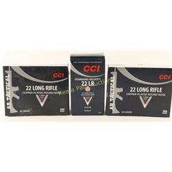 Lot of CCI 22LR Ammo