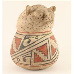 Santo Domingo Owl Effigy Pot