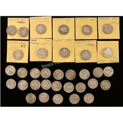 Large Lot of Collectors Quarters