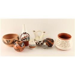 Native American Pottery Lot