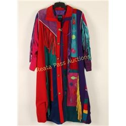 Southwest Style Ladies Long Coat