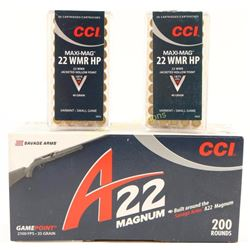 Lot of 22 Ammo