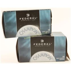 2 Boxes Federal 22LR