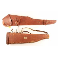 Lot of 2 Rifle Scabbards