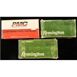 Lot of 3 Boxes 41 & 444 Ammo