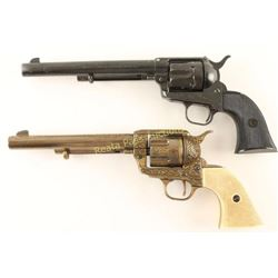 Pair of Replica Colt SA Non Guns