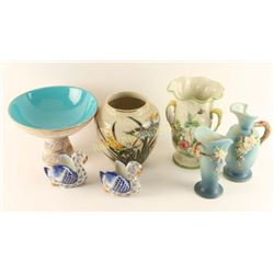 Lot of 7 Pieces of Collectible Pottery