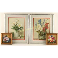 Lot of 4 Art Pieces