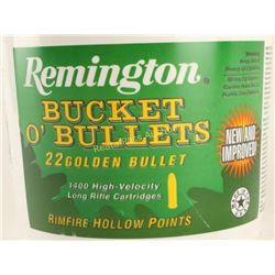 Remington Bucket O' 22LR Bullets