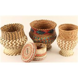 Lot of 4 Baskets