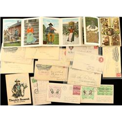 Lot of Vintage Postcards & Envelopes