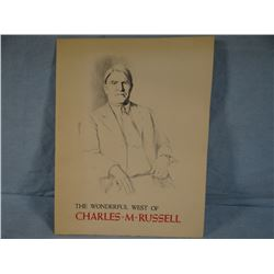 C. M. Russell,12 prints of pen/ink drawings, ltd ed. 27/500