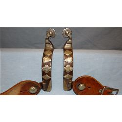 Card suit spurs, unmarked