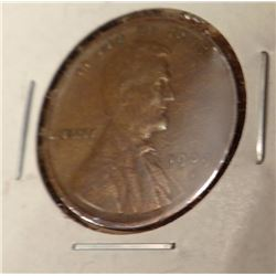 1909-S Lincoln Penny, X.F.