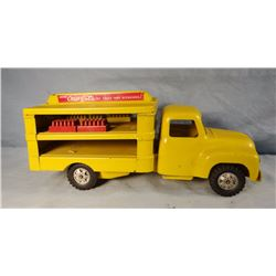 Buddy L Coca Cola toy delivery truck, all original, excellent condition