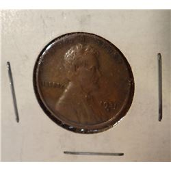 1931-S Lincoln Penny,  X. F.
