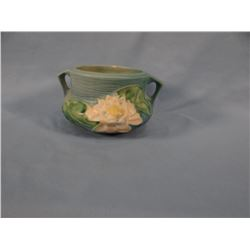 "Roseville Water Lily bowl, 3"", #663,"