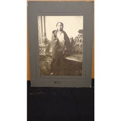 "Barry, D. F. original photo, Crow Foot, Sitting Bull's son, 6"" x 8"", 1880"