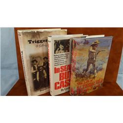 3 books: The Life of Buffalo Bill Cody, An Autobiography, 1991, dj; In Search of Butch Cassidy, 1977