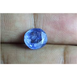 Natural Blue Sapphire 3.43 Cts - no Treatment