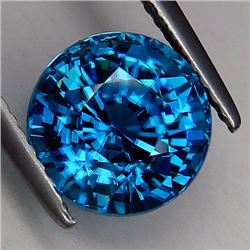 Natural Combodian Rare Blue Zircon 5.29 Ct - VVS